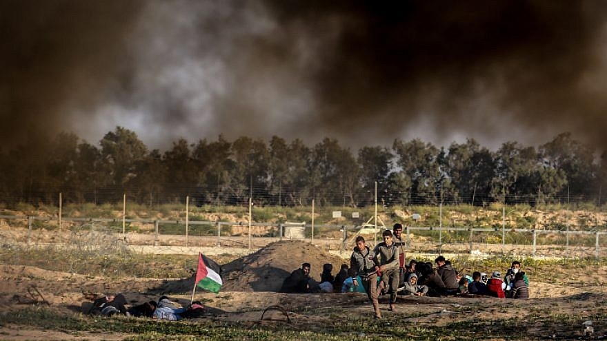 Two dead, 76 injured in 73rd week of Gaza border protests