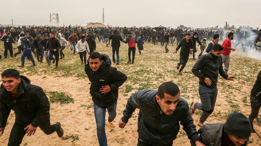 Gaza rallies to mark 'Great Return' protest anniversary
