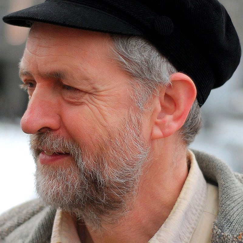 British Labour Party leader Jeremy Corbyn. Credit: Wikimedia Commons.