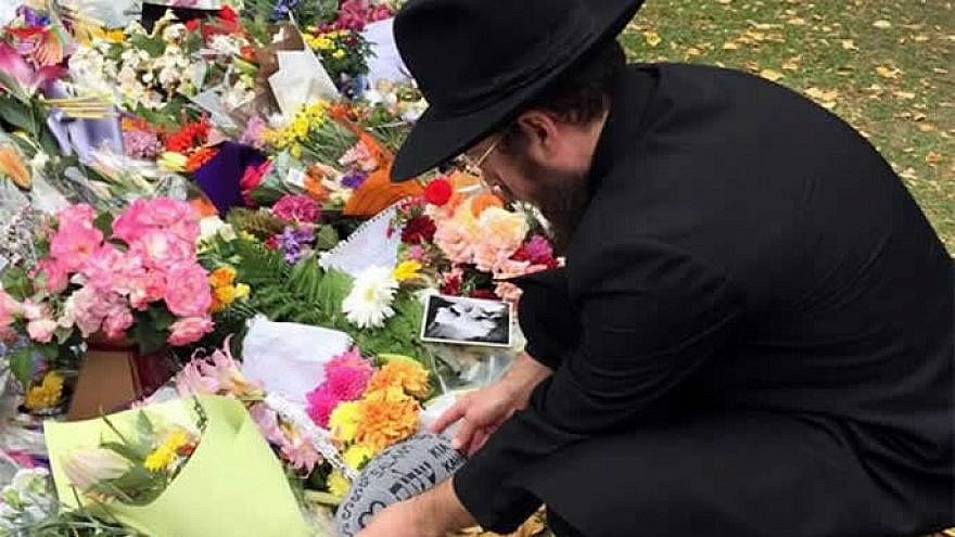 """""""The recent tragic mosque terror attacks have shown that real faith crosses religious divides,"""" noted New Zealand Parliament member Duncan Webb. Credit: Chabad.org/News."""