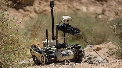 Roboteam MTGR, a light, full-featured tactical ground robot, Feb. 12, 2017. Credit: Robobotics via Wikimedia Commons.