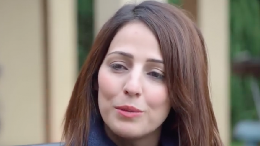 Gadeer Mreeh could become the first female Druze member of the Knesset. Credit: Screenshot.