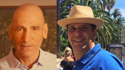 The two Israelis who died in the Ethiopian Airlines Flight 305 crash were identified as Shimon Re'em (left) and Avraham Matzliah.
