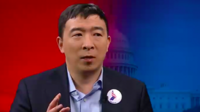 Andrew Yang. Credit: Screenshot.