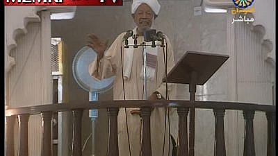 Sudanese cleric Abd Al-Jalil Al-Karouri said in a Friday sermon that aired on Sudan TV on March 15, 2019, that the perpetrator of the mosque attack in Christchurch, New Zealand, was working for the Jews, who he said show the strongest enmity towards Muslims. (MEMRI)