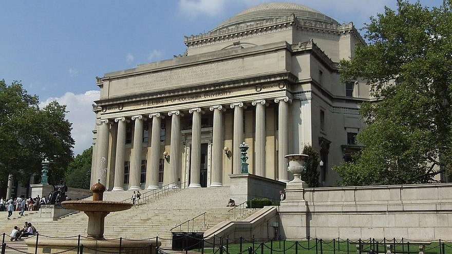 Columbia University president opposes BDS referendum ahead of student vote