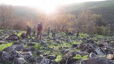 Soldiers with the IDF's EITAN Unit searching for the remains of missing soldiers. Credit: IDF.