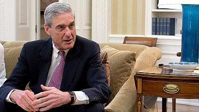 Robert Mueller in the Oval Office in 2012. Credit: The White House via Wikimedia Commons.