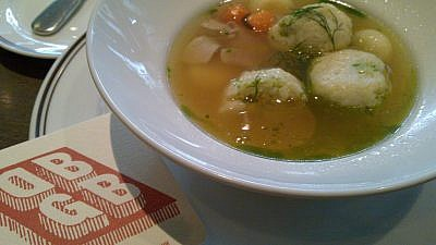 Matzah-ball soup. Credit: Flickr.