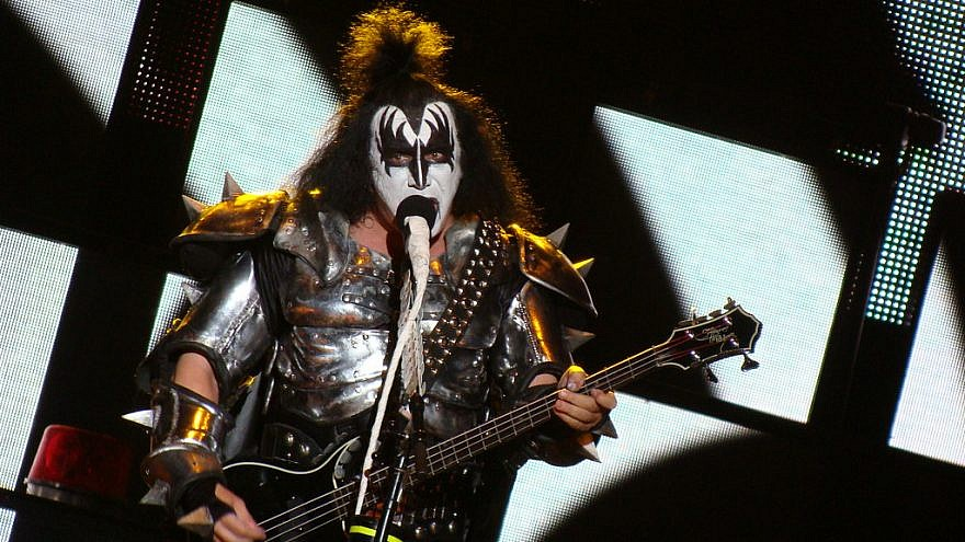 KISS frontman Gene Simmons is one of 100 artists calling for the rejection of boycotting Eurovision 2019 in Israel. Credit: Alberto Cabello/Flickr.