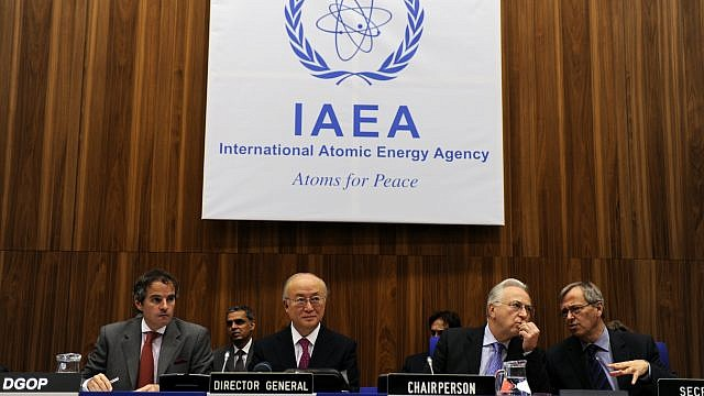 A meeting of the International Atomic Energy Agency Board of Governors (IAEA). Credit: Wikimedia Commons.