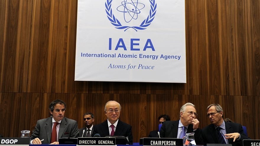 International Atomic Energy Agency board of governors meeting. Credit: Wikimedia Commons.