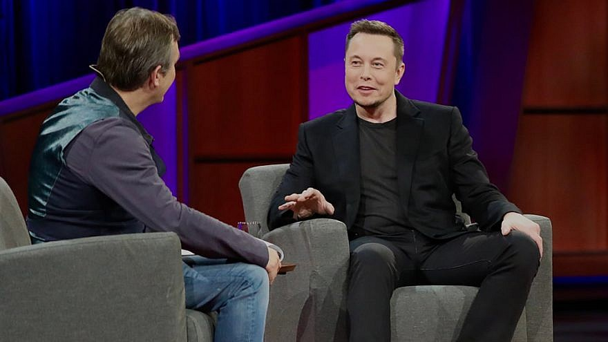 Elon Musk at TED 2017, April 28, 2017 Credit: 	Steve Jurvetson via Wikimedia Commons.