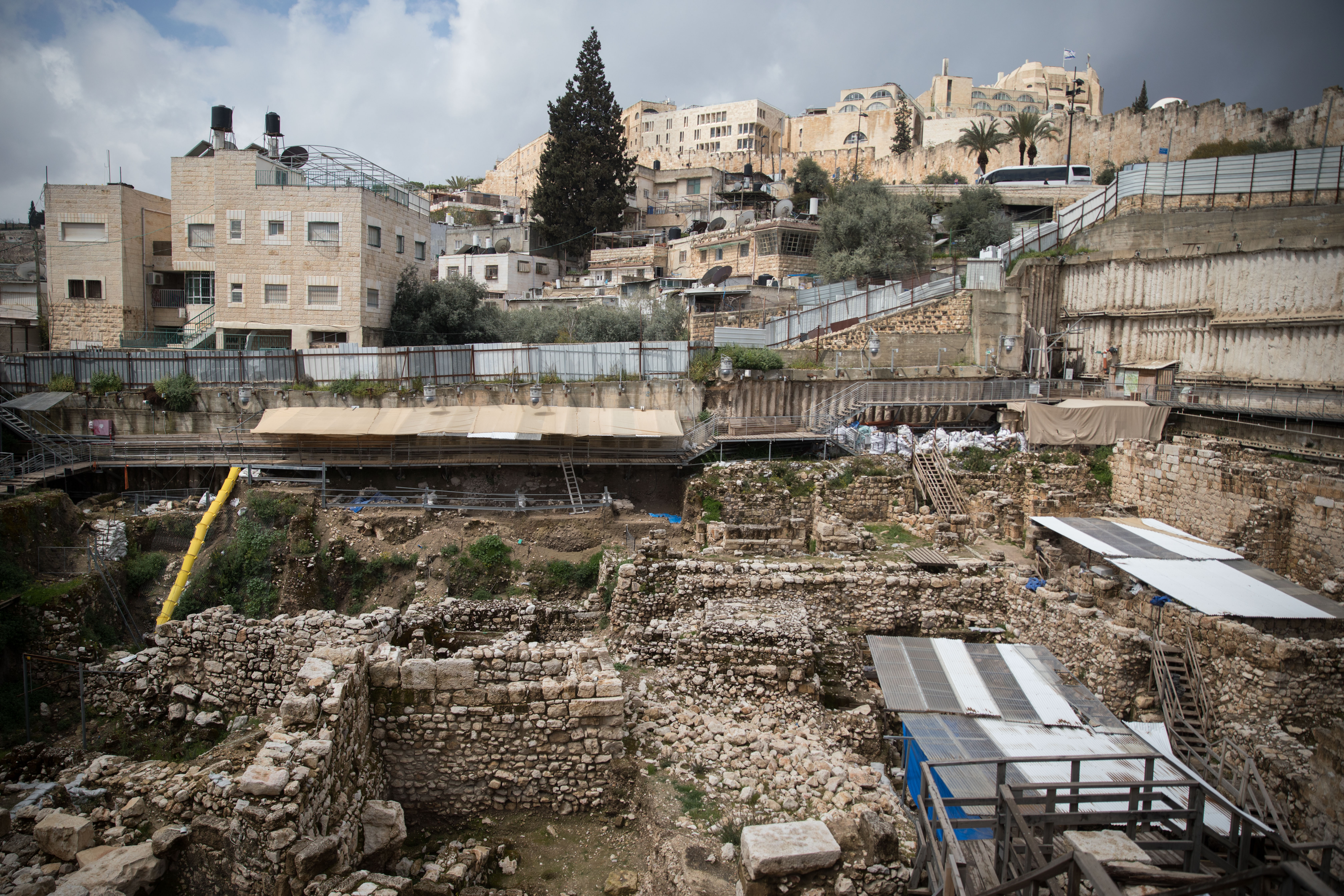 The City of David and the problem with dividing Jerusalem | JNS org