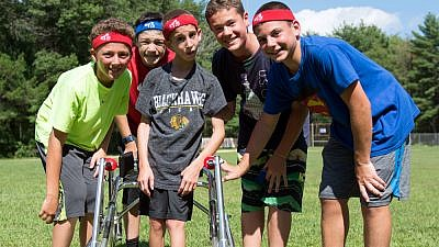 Summer camp should be a place where all kids can join in. To that end, a grant to the Foundation for Jewish Camp will make certain camps more accessible for children. Credit: JCC Camp Chi in Wisconsin.