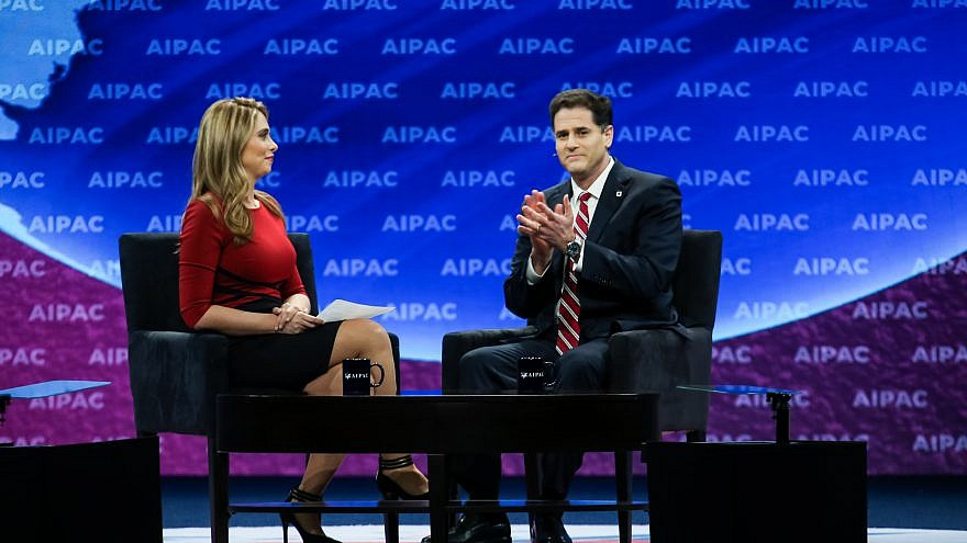 Israeli Ambassador to U.S. Ron Dermer addresses the annual AIPAC policy conference in Washington D.C. on March 24, 2019. Credit: AIPAC.