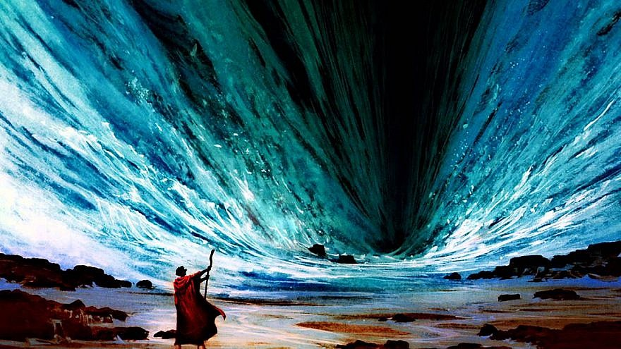 Image result for crossing the red sea