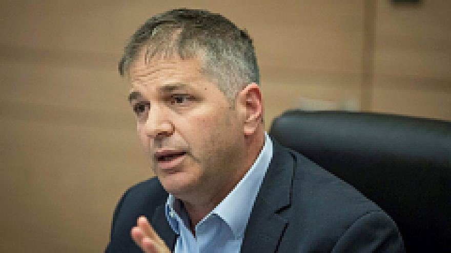Yoav Kisch, chairman of the Interior Affairs Committee leads an Interior Affairs Committee meeting at the Knesset, the Israeli parliament in Jerusalem, on July 12, 2018. Photo by Yonatan Sindel/Flash90.