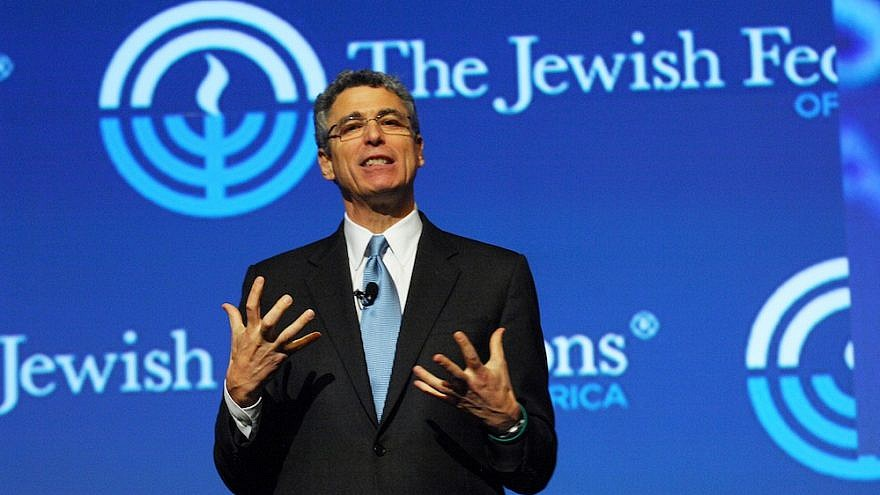 Union for Reform Judaism president Rabbi Rick Jacobs speaks at the Jewish Federations of North America General Assembly. Credit: Robert A. Cumins for JFNA.