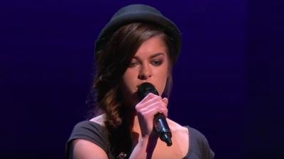 Irish singer Sarah McTernan. Credit: Screenshot.