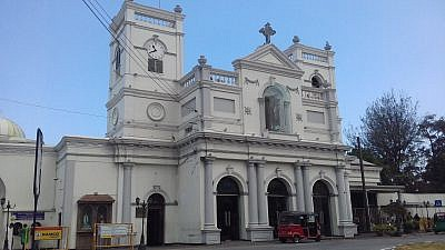 St. Anthony's Shrine in Kochcikade, Sri Lanka, one of several sites attacked in coordinated bombing attacks on Easter Sunday, April 21, 2019. Credit: Wikimedia Commons.