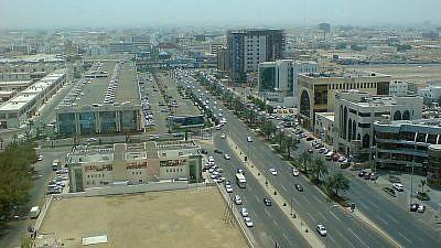 Jeddah, Saudi Arabia. Credit: Ammar Shaker via Wikimedia Commons.