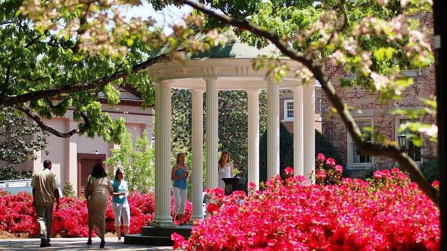 "The ""Old Well"" at the University of North Carolina, Chapel Hill. Credit: Caroline Culler via Wikimedia Commons."