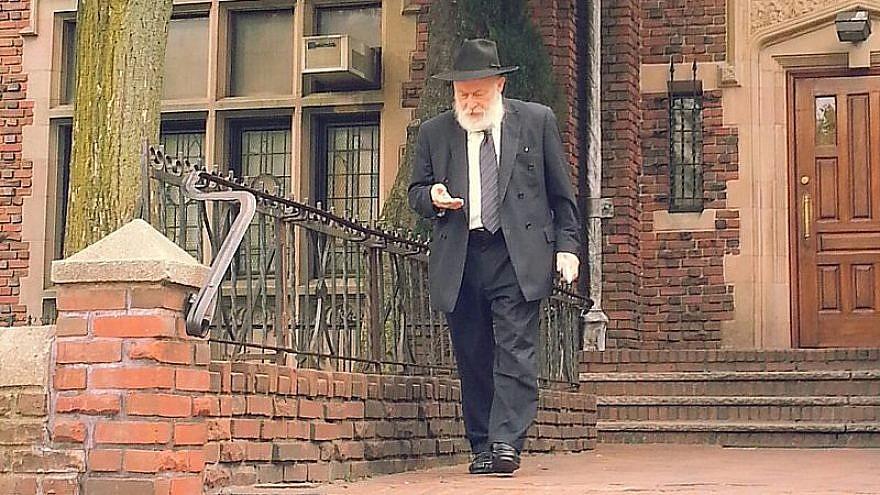 Rabbi Yehuda Krinsky, one of the senior rabbinical figures in the Chabad organization. Photo by Meni Yuzevich/Wikipedia.