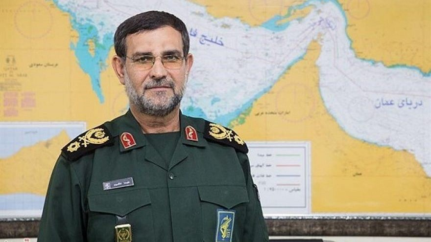 Alireza Tangsiri, naval commander of Iran's Islamic Revolutionary Guard Corps. Credit: Iran Press.