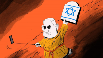 """Despite apologizing on April 28 for running an anti-Semitic cartoon in its international edition on Aug. 25, 2019, """"The New York Times"""" published another anti-Semitic cartoon in the same edition over the weekend. Credit: VG."""
