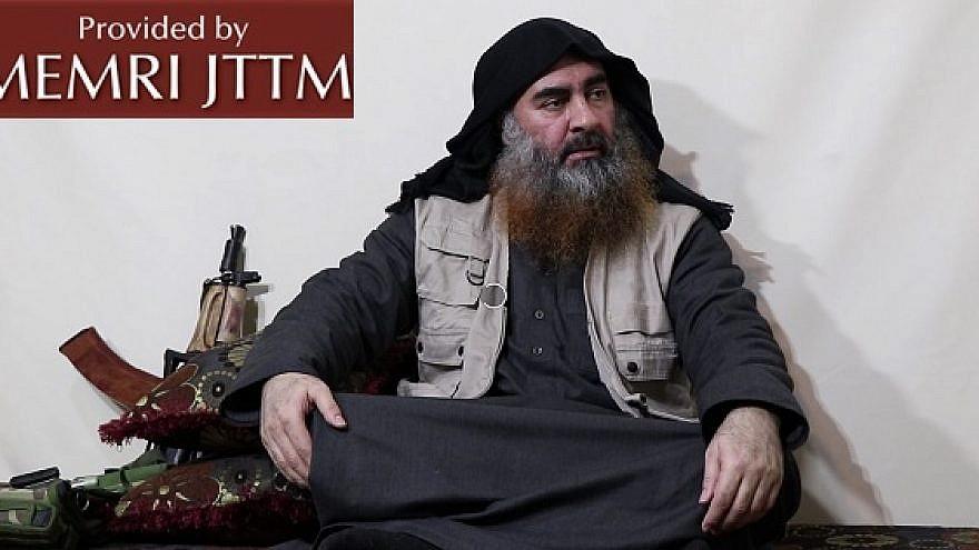 Islamic State leader Abu Bakr al-Baghdadi. (MEMRI)