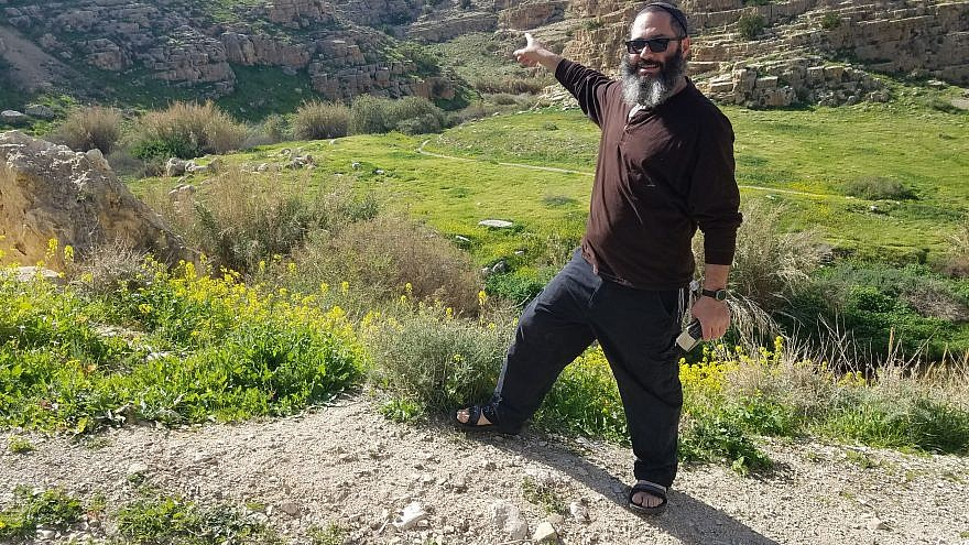 Daniel Gutman, a tour guide who has been leading groups around Israel for the last decade. Credit: Courtesy.