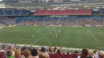A New England Revolution game on July 6, 2013, at Gillette Stadium. Credit: Wikimedia Commons.