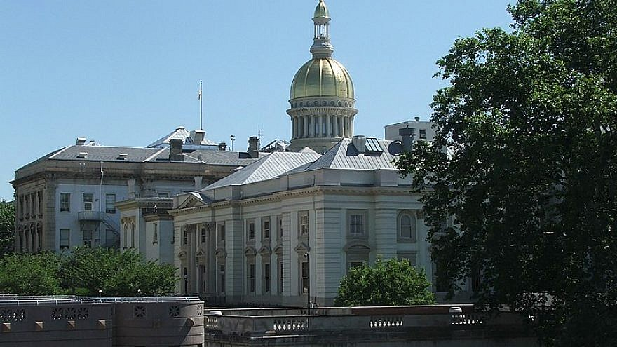 New Jersey State House. Credit: Marion Touvel/Wikimedia Commons.