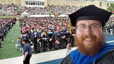 Rabbi Shlomo Silverman, director of Chabad of Carnegie Mellon University. Credit: Courtesy.