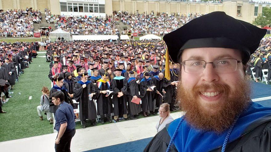 Rabbi Shlomo Silverman, director of Chabad of Carnegie Mellon University. Credit: Courtesy.