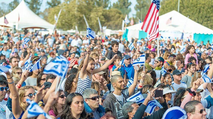 An IAC Celebrate Israel festival in Los Angeles. Credit: Abraham Joseph Pal.
