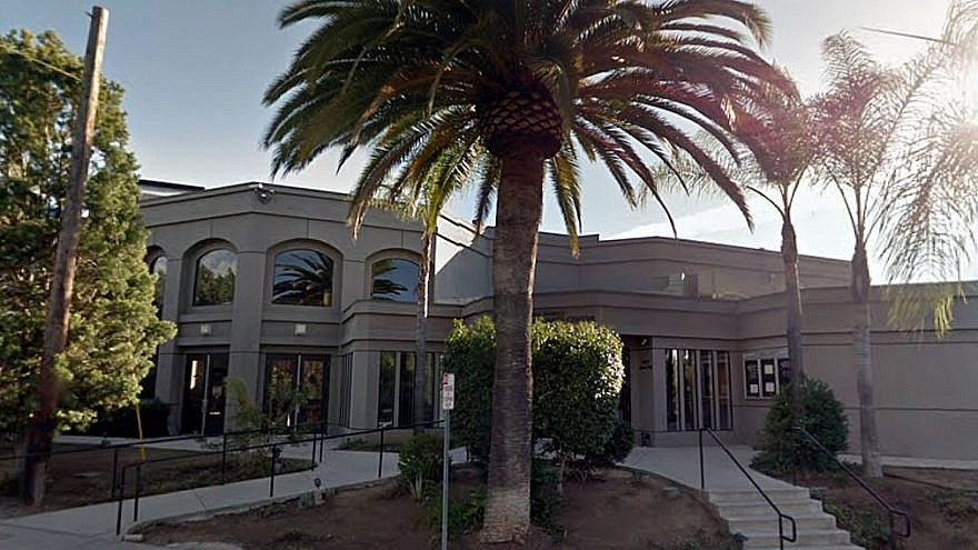 Chabad of Poway, Calif. Credit: Google Maps.