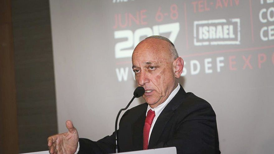 Former Israeli National Security Adviser Jacob Nagel in 2017. Photo by Flash90.