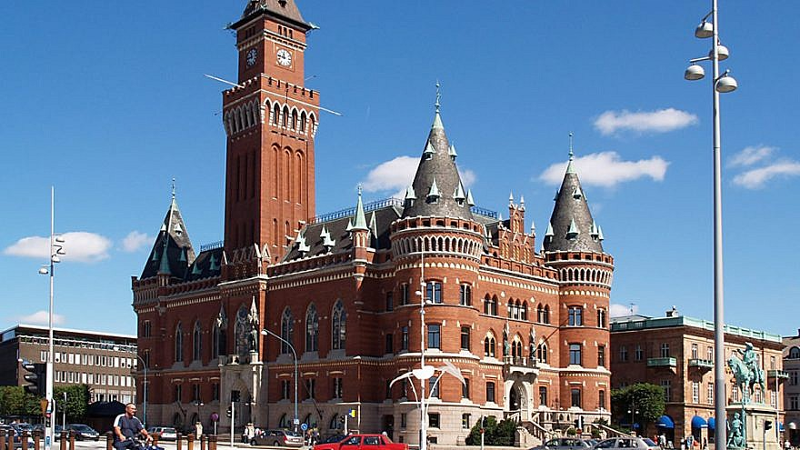 Helsingborg Town Hall. Credit: Wikimedia Commons.