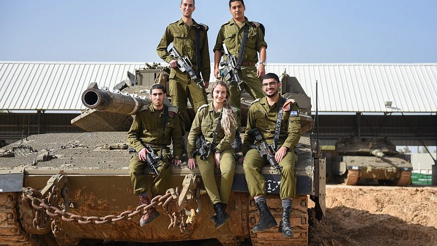 Nurses in the Israel Defense Forces now attached to combat battalions. Credit: IDF Spokesperson Unit.