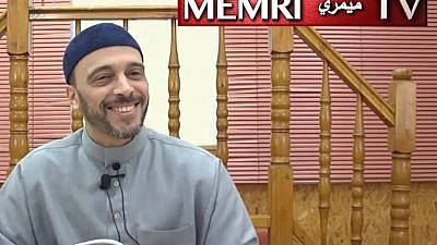 This still image of German Imam Said Abu Hafs was taken from a video uploaded to the Islamic Center of Kaiserlautern's (Islamisches Zentrum Kaiserlautern) YouTube channel on March 30, 2019. (MEMRI)