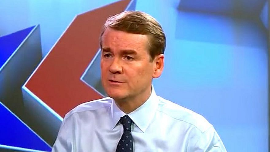 Senate Candidates Stake Out A Range Of Positions On >> Record At A Glance Sen Michael Bennet S Pro Israel History Stands