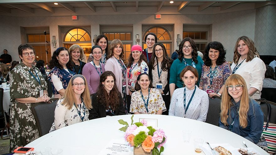 Attendees from the Orthodox Union Women's Initiative Leadership Summit. Credit: Courtesy.