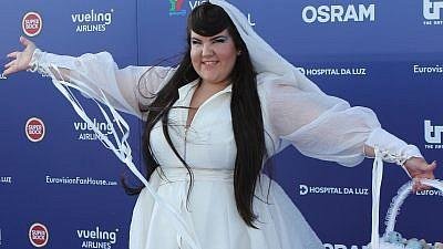 The 2018 Eurovision winner, Israeli singer Netta Barzilai. Credit: Dewayne Barkley, EuroVisionary/Wikimedia Commons.