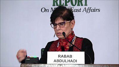 Professor Rabab Abdulhadi. Credit: YouTube.