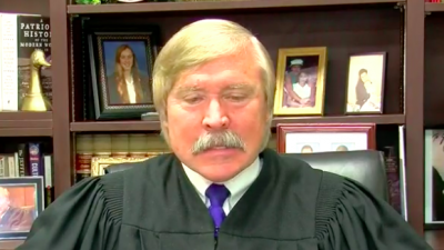 Jim Lammey of the Shelby County Criminal Court in Tennessee. Credit: Screenshot.
