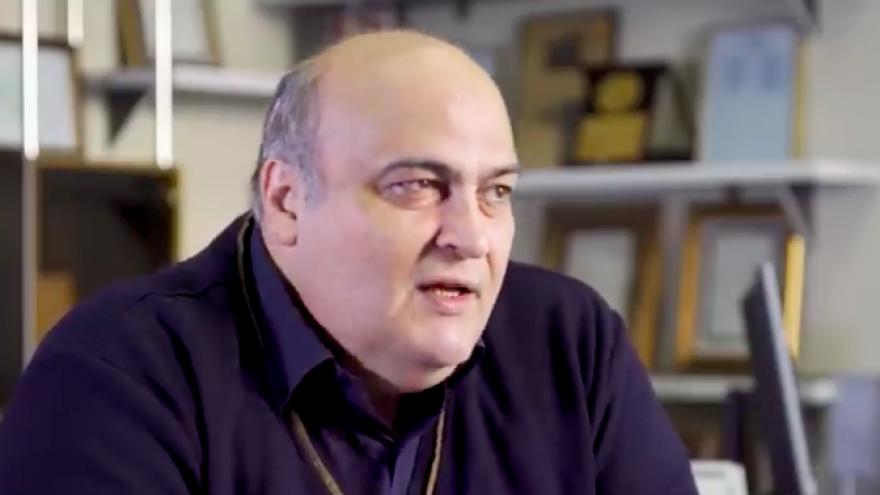 Siamak Moreh Sedgh, the sole Jewish member of Iran's parliament. Credit: Screenshot.