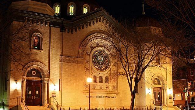 Washington D.C.'s historic Sixth and I synagogue. Credit: Sixth and I.