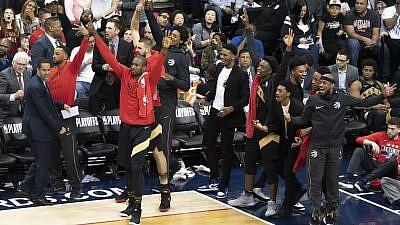 Toronto Raptors vs. the Washington Wizards on April, 27, 2018. Credit: Flickr.